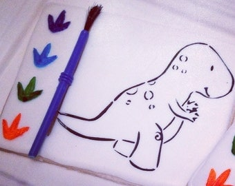 T-Rex Paint Your Own Cookie Stencil