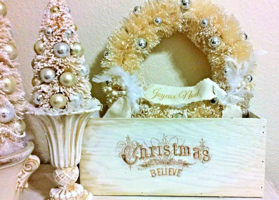 Christmas Decor Box, Christmas Centerpiece, Christmas Decoration