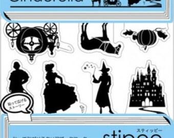 Stipee Index Stickers - Cinderella