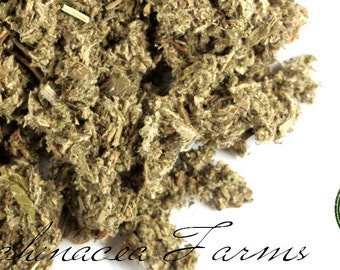 MUGWORT - 16 oz. - ARTEMISIA VULGARIS Dried Cut Herbs Organic Natural Wiccan Potions Botanical