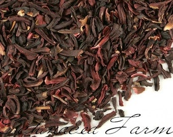 HIBISCUS FLOWER - 16 oz. - Dried Cut Herbs Organic Natural Wiccan Potions Botanical Tea
