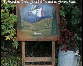Harvest Under the Tuscan Sun - Painted by Franca Marzi, Painting With Friends E Pattern
