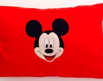 Mickey Mouse Fleece Pillow
