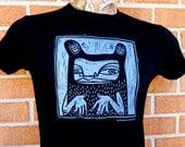 "Women's MEDIUM T-shirt - Black ""Unclassifiable"" - Todd Marrone"
