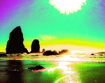 Cannon Beach (Hypercolor edit)