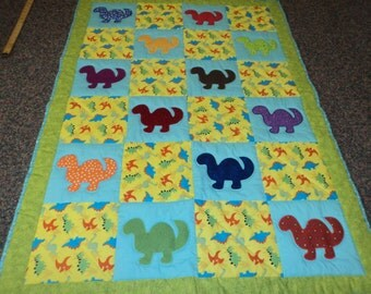 bary dino quilt