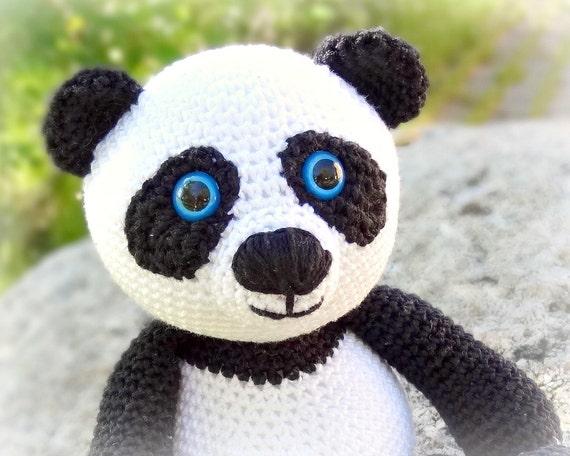 Modele Amigurumi Panda : MODeLE Panda crochet amigurumi en anglais par ? Etsy ...