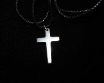 Hematite Cross pendant