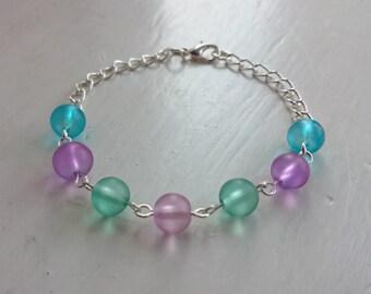 Pretty pastels bracelet