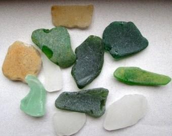 Destash of Large Sea Glass Pieces