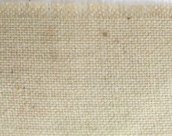 "Ivory Glitter Burlap Table Runner 23"" x 108"" (Fringed Edges) Great for any occasions! Available in other colors (BFG-L02)"