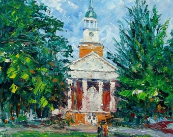 Parker Hall At Hanover College-Pen King-6904