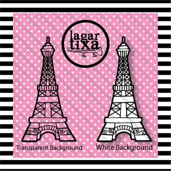As Creation Pink Paris Pattern Eiffel Tower Childrens: Paris France Digital Paper Eiffel Tower Pink Black White