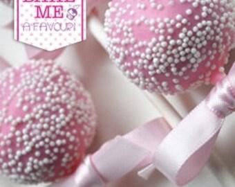 Sprinkle Me Pink Cake Pops