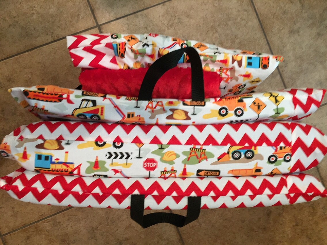 Kindermat Cover With Double Sided Minky Blanket By