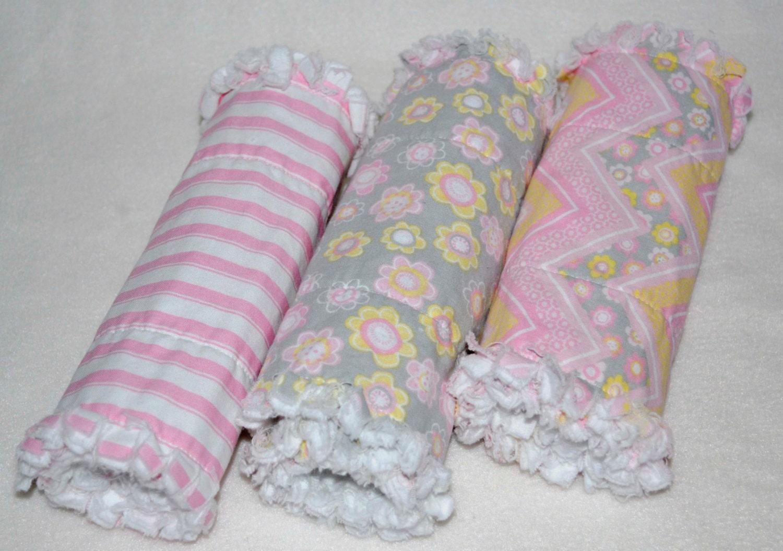 Baby Girl Burp Cloths Rag Quit Burp Cloths by