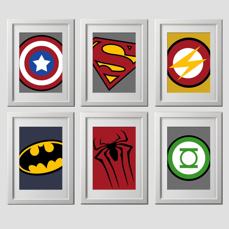 Printable Superhero Logos | Joy Studio Design Gallery ...