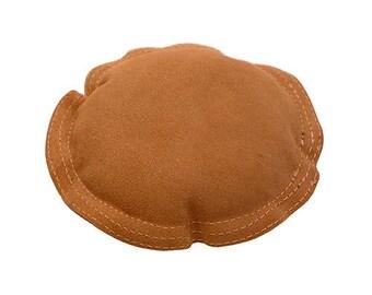 "Leather Sand Bag Round 6"" Diameter  (DA5706)"