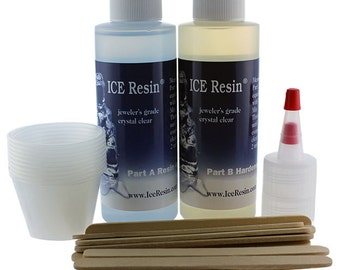 Ice Resin 4oz Bottles  (CE711)