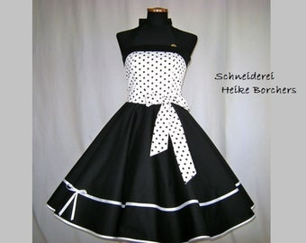 Petticoat dress Maritim dance dress black