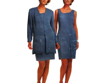 McCall's Sewing Pattern 7388 Misses' Unlined Jacket, Dress Size:  B  16-18-20-22  Uncut
