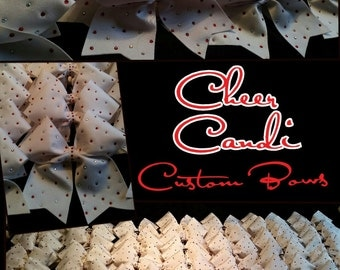 """3"""" Customized Team Cheer Bows... Team Order discount available"""