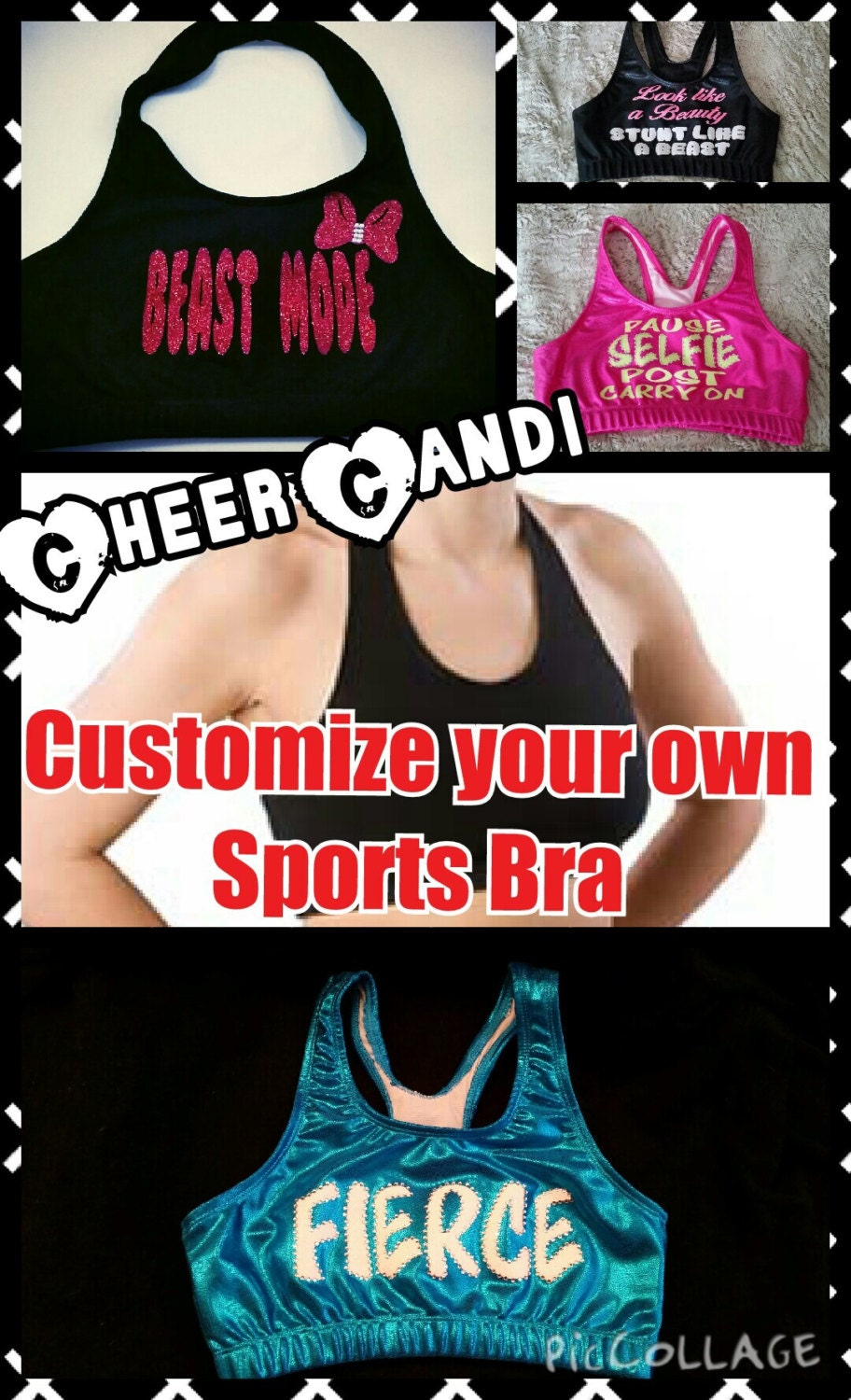 Customize Your Own Sports Bra