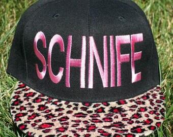 Pink Leopard SCHNIFE Hat