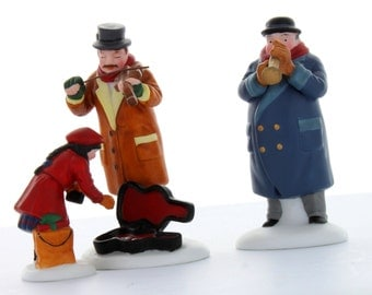 Department 56 Christmas in the City Collectible Street Musicians 1993 #55646