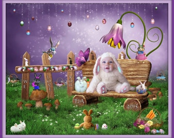 Fantasy Portrait - Easter Magic