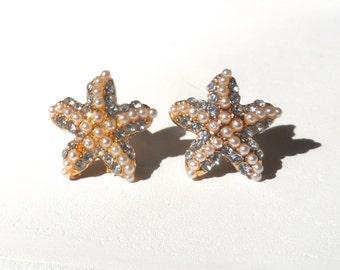 10g Starfish Plug Earrings