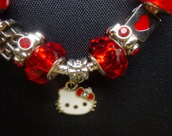 Children's Handmade Kitten Magnetic European Style Bracelet