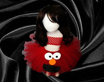 Elmo Themed Tutu