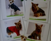 Simplicity 2695 Dog Clothes Sewing Pattern New/Uncut