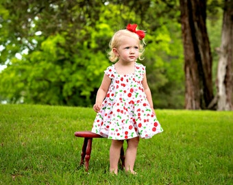 Maya Twirly Tier Dress sizes 6months to - 12 years pdf Pattern