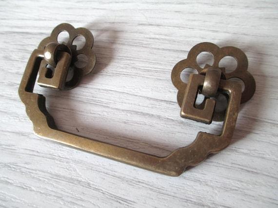 2 3 4 drawer pulls handles dresser pull bail by aroserambling for Furniture bail pulls