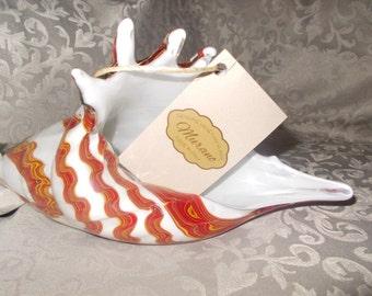 SALE - Murano Glass Sea Shell Sculpture (753*)