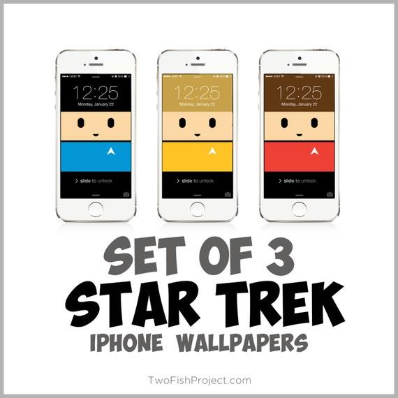 Items Similar To Star Trek Iphone Wallpapers Spock