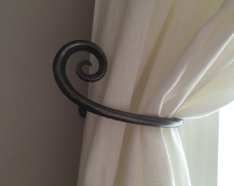 Curtain tie backs, curtain hold backs