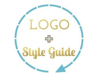 Style guide and logo design, business brand logo design, custom, photography