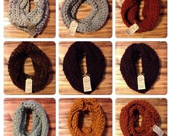 Shipp's infinity scarves