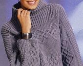 ON SALE MADE To Order women's sweater coat aran women's jacket women hand knitted women's dress sweater cardigan pullover clothing handmade
