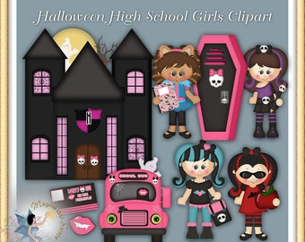 Halloween High Clipart