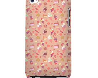 Sweet Tooth Kawaii Candy Art Print iPod Touch 4 4G 4th Gen Case Japan Anime