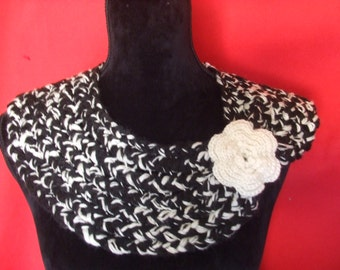 neck neck warmer scarf Wool Sweater woman