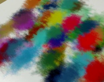 "Math Art Digital Print - ""Colors of Colours"""