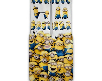 Minions Customize Elite Socks
