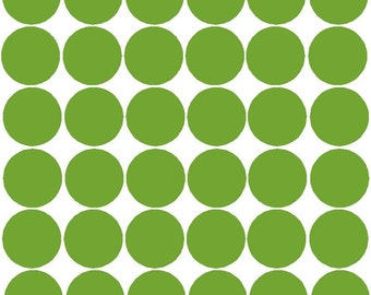 Polka dots, 2 inch size, 36 dots per sheet - you choose the color!