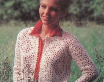 Crochet Pattern Book - Bernat #271 - Sizes Range from 8-18 - Vintage 1981