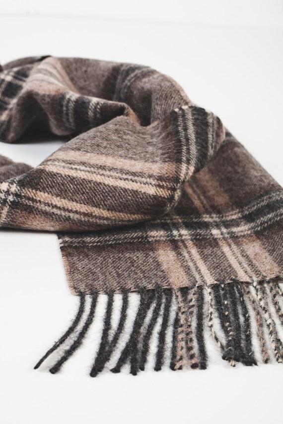 wool scarf alpaca wool scarf alpaca scarf brown scarf